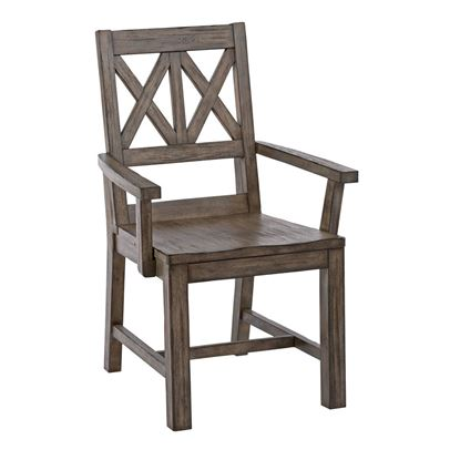 Foundry - Wood Arm Chair