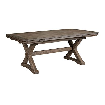 Foundry Collection Saw Buck Dining Table