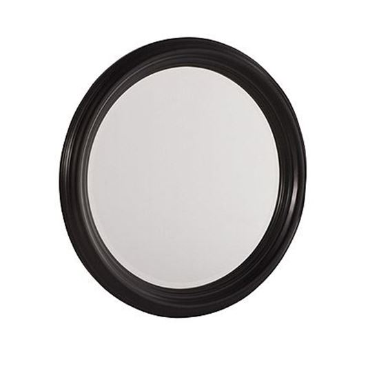 Picture of Camden Dark Round Mirror