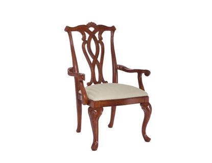 Picture of Cherry Grove Pierced Back Arm Chair