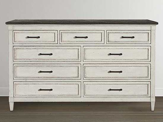 Picture of Bella 9 Drawer Stone Top Dresser