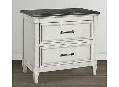 Picture of Bella Stone Top Nightstand