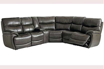 Picture of Brookville Leather Sectional