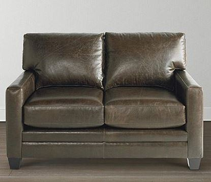 Picture of American Casual Leather Ladson Loveseat