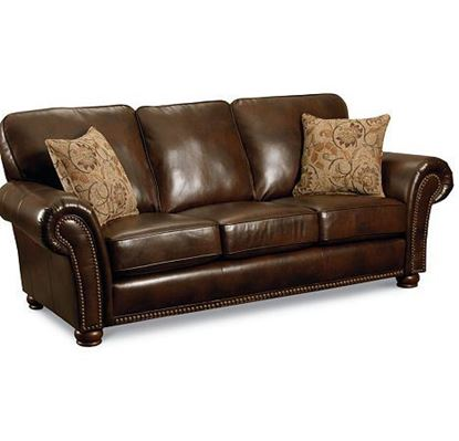 Picture of Stationary Leather Sofa