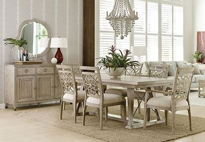 Vista Dining with Claytron Rectangular Table