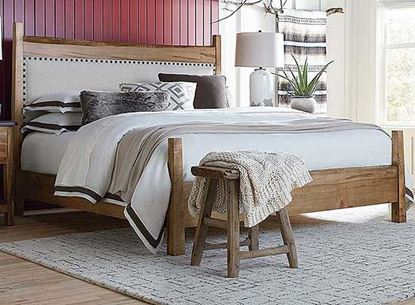 Picture of Bench*Made Live Upholstered Bed