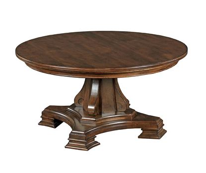 Picture of Portolone - Round Pedestal Cocktail Table