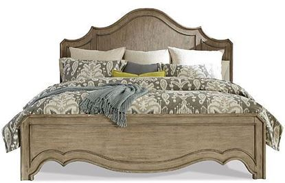 Picture of Corinne Carved Panel Bed