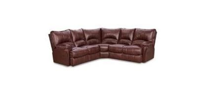 Picture of Leather Sectional
