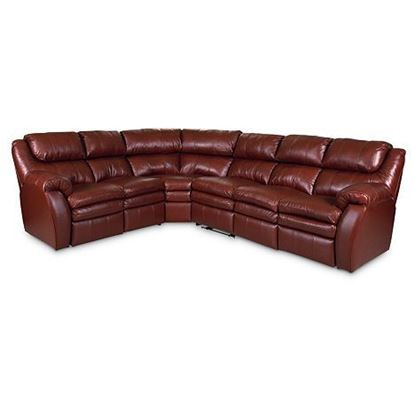 Picture of Reclining Leather Sectional