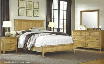 Artisan Choices- Panel Bedroom w/ Loft Style