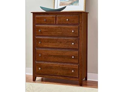 Artisan Choices Loft Chest in an Amish Cherry finish