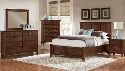 Bonanza Bedroom Collection in a Cherry finish