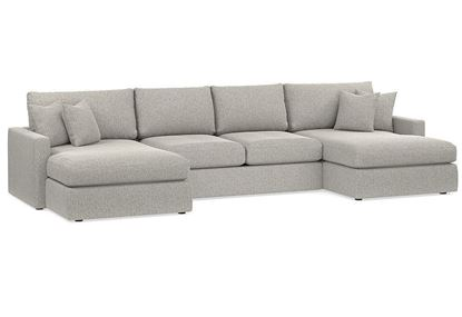 Allure Double Chaise Sectional 2611-UCSECT