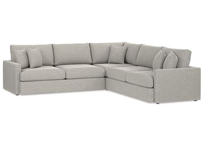 Allure L-Shaped Sectional (2611-LSECTLL) in a Smoke fabric