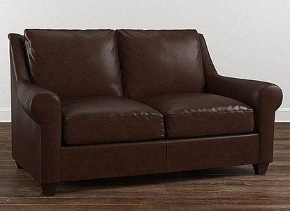 American Casual Leather Ellery Loveseat 3101-42L