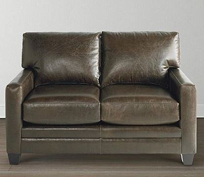 American Casual Leather Ladson Loveseat 3105-42L