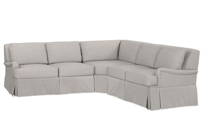 Designer Comfort Bridgewater Large Sectional 2636-LSECTL