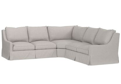 Designer Comfort Exeter Small Sectional 2646-LSECTLS