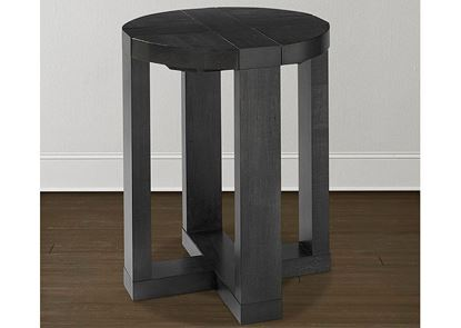 Bench*Made Maple Skyline Round End Table 6015-0641T