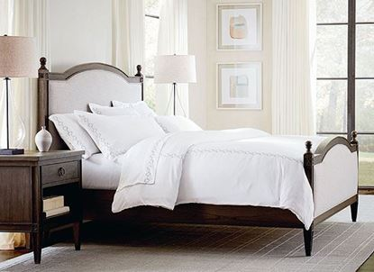 Charlotte bedroom (2511-2611)  with upholstered bed