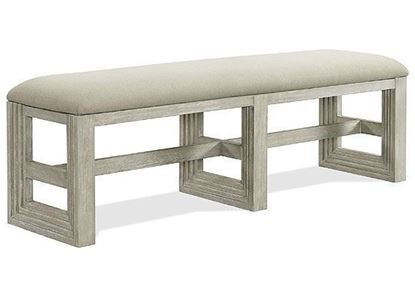 Cascade Upholstered Dining Bench 73444 by Riverside furniture