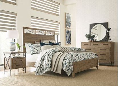 Picture of Modern Forge Bedroom Collection