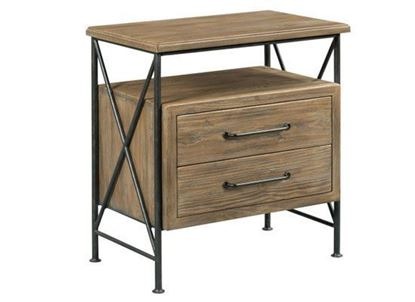 Picture of Modern Forge - Crockett Nightstand 944-420