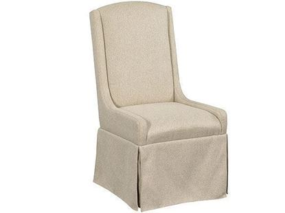 Kincaid Mill House collection - Barrier Slip Covered Dining Chair 860-620