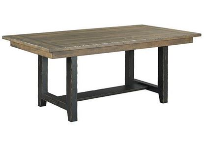 "Kincaid Mill House collection - 74"" Webb Trestle Table 860-744"