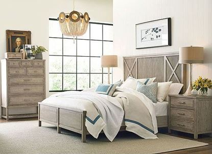 American drew West Fork Bedroom Collection with Canton Panel bed