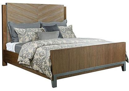 AD Modern Synergy - Chevron Maple Queen Bed 700-313R by American Drew furniture