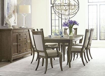 American Drew Anson Dining Collection with Swanson rectangular dining table