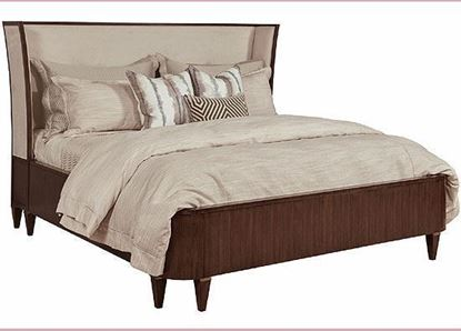 American Drew Vantage Collection - Morris Upholstered Queen Bed 929-324R
