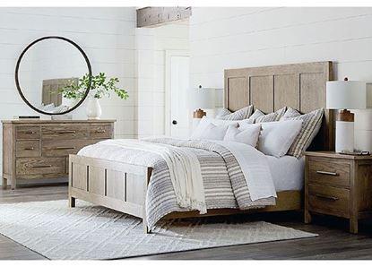 Abingdon Oak Bedroom Collection from Bassett furniture
