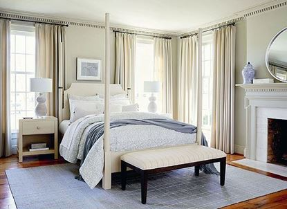 Bench*Made MIDTOWN Bedroom Collection with Poster bed in a Farmhouse White finish