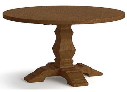Bench*Made Tavern Oak Round Table 4121-5454T with a Summerfield finish